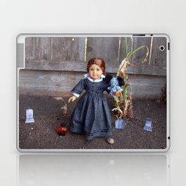 The Girl and Her Pet Sea Monster Laptop & iPad Skin