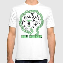 Kansas City Ball Hockey Wildin' Owt [Large Graphic] T-shirt