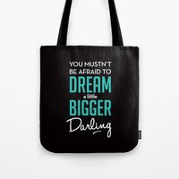 inception Tote Bags featuring Inception by mydeardear