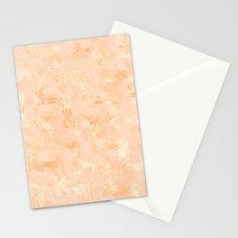 Botanic orange Stationery Cards