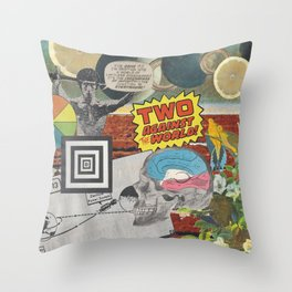 Strychnine Summertime Throw Pillow