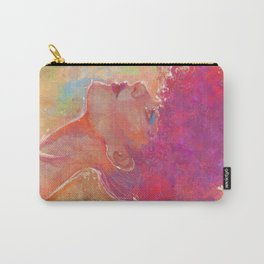 Afro Girl 01 Carry-All Pouch