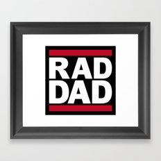 RAD DAD Framed Art Print