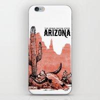 arizona iPhone & iPod Skins featuring Arizona by Krikoui