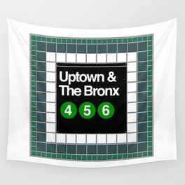 subway bronx sign Wall Tapestry
