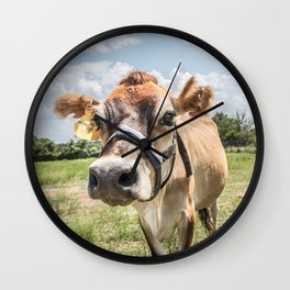 Moove Your Booty Wall Clock