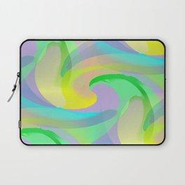 Soft Rainbow Abstract - Painterly Laptop Sleeve