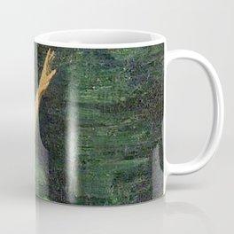 Merman Reaching Up By Myrtle Florence Broome Coffee Mug