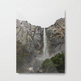 Yosemite - Braidalvail Falls Metal Print