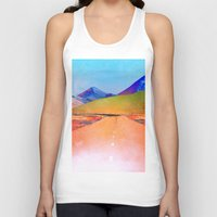 verse Tank Tops featuring Verse by Polishpattern