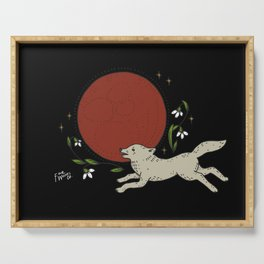 Super Blood Wolf Moon Serving Tray