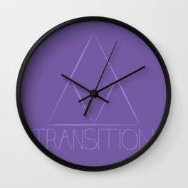 Transition Wall Clock