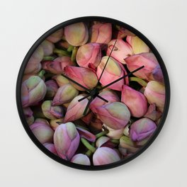 Lotos Flower Wall Clock