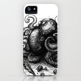 Octopus #8 iPhone Case