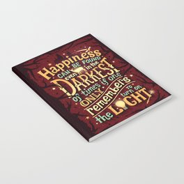 Happiness can be found Notebook