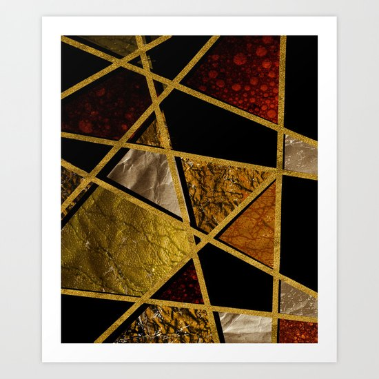 Abstract #468 Art Print