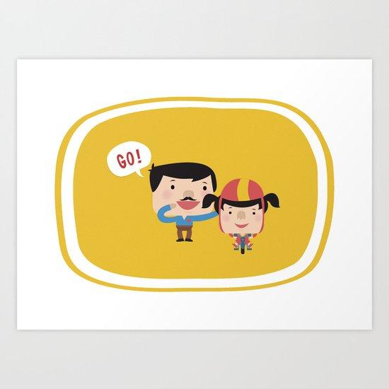 Let's Go! (Yellow Tales Series #3) Art Print