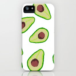 Avocados iPhone Case