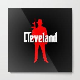 Cleveland mafia Metal Print