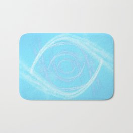 Cotton Candy Swirls Bath Mat