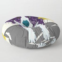 Corgi Love Floor Pillow