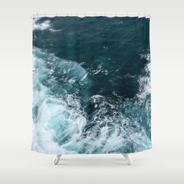 Water (Ocean Waves) Shower Curtain