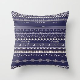 Native Groovy Throw Pillow