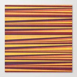Happy Horizontal Lines Canvas Print