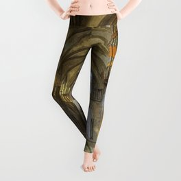 Rochester Cathedral Art Leggings