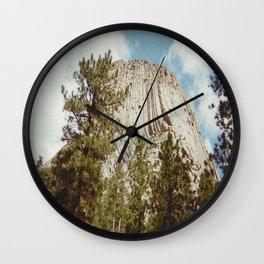 Devil's Tower, WY Wall Clock