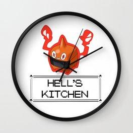 Rotom hell Wall Clock