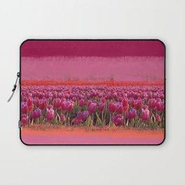 field of tulips Laptop Sleeve