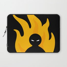 Flaming Anger Laptop Sleeve