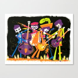 The Lonely Dead Hearts Canvas Print