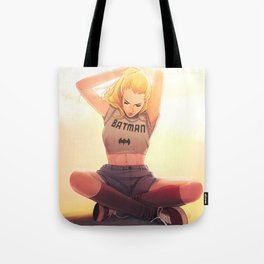 I want to be a superhero Tote Bag
