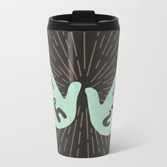 Hi Fives Metal Travel Mug