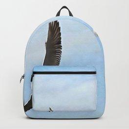 Three Black Headed Gulls Of The Bosphorus Art Backpack