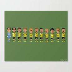 Borussia Dortmund 2012 (side-by-side) Canvas Print