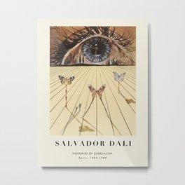 Poster-Salvador Dali-Memories of surrealism. Metal Print