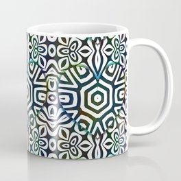 Love in the Black and White Structures Coffee Mug