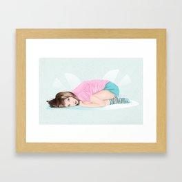 I need to cuddle Framed Art Print