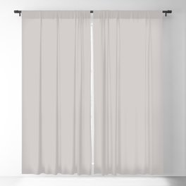 Pastel Light Gray Solid Color Pairs with Sherwin Williams 2020 Trending Color Grayish SW6001 Blackout Curtain