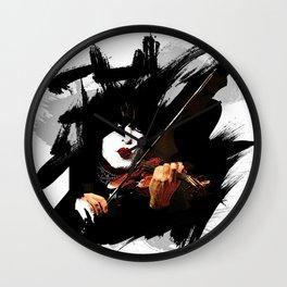 Paganini devil violinist  Wall Clock