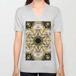 The Abstract Visionary Unisex V-Neck