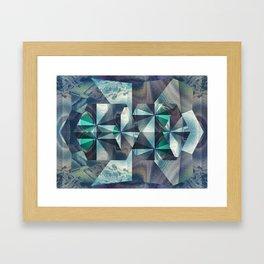 Blue Ceilings Framed Art Print