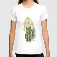 legolas T-shirts featuring Chibi Legolas by Miss No!