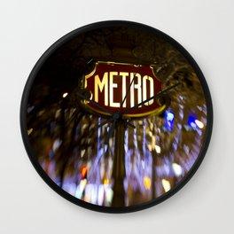 Metro Love Wall Clock
