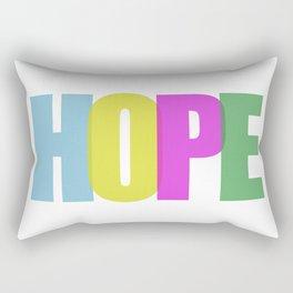 Hope (Color) Rectangular Pillow