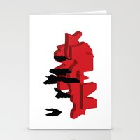 japan Stationery Cards featuring JAPAN by Joe Pansa