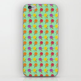 Roses are Rainbow Sorbet iPhone Skin